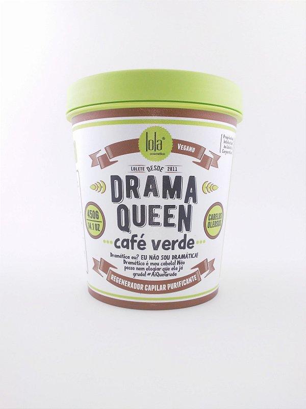 Máscara Drama Queen Café Verde