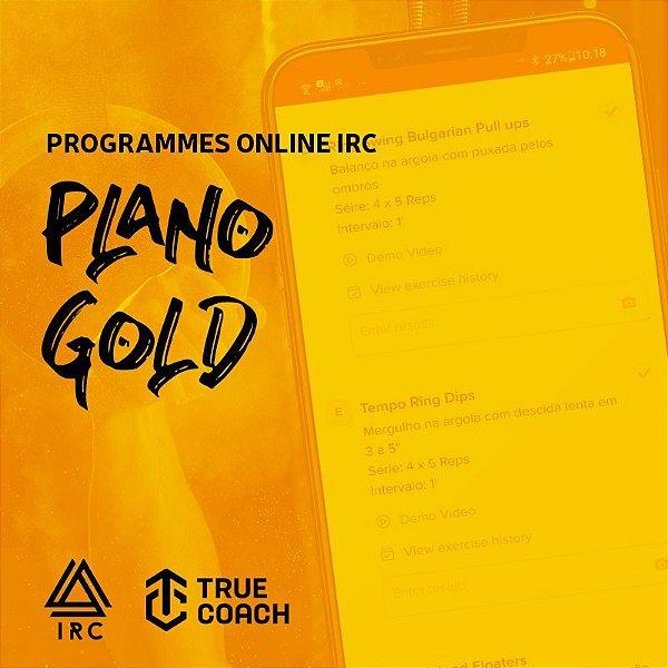 PROGRAMMES ONLINE mensal *PLANO  GOLD* (Vagas Limitadas)