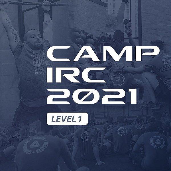 Camp IRC 2021 level 1 (valor a vista)