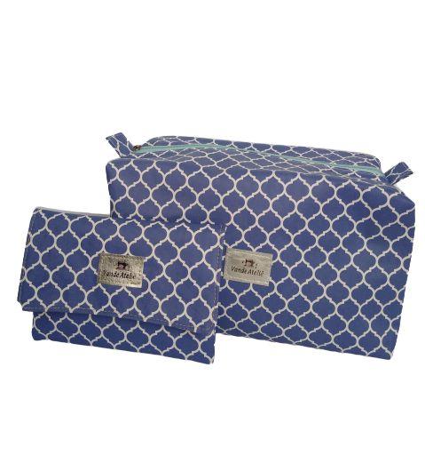 Kit Necessaire Box + porta absorvente