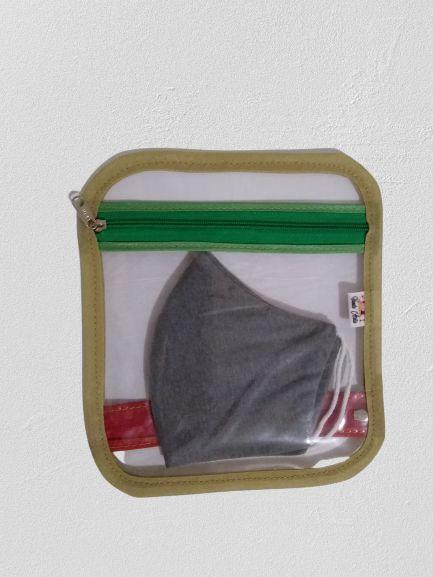 Porta máscaras [divisões para limpas e sujas]