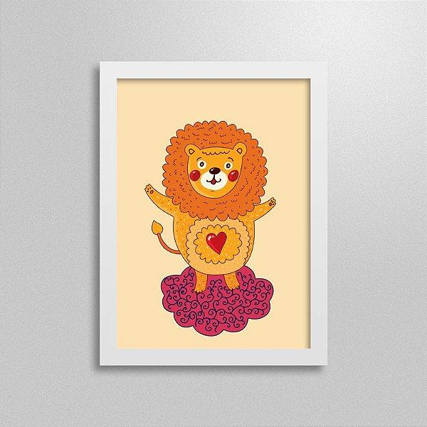 Quadro Love Animals Leão