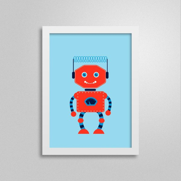 Quadro Robô D3Q3