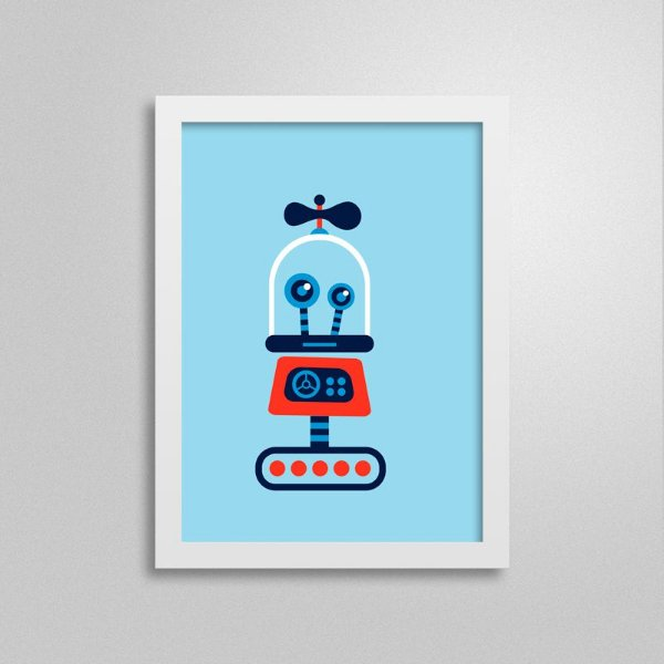Quadro Robô D5Q5