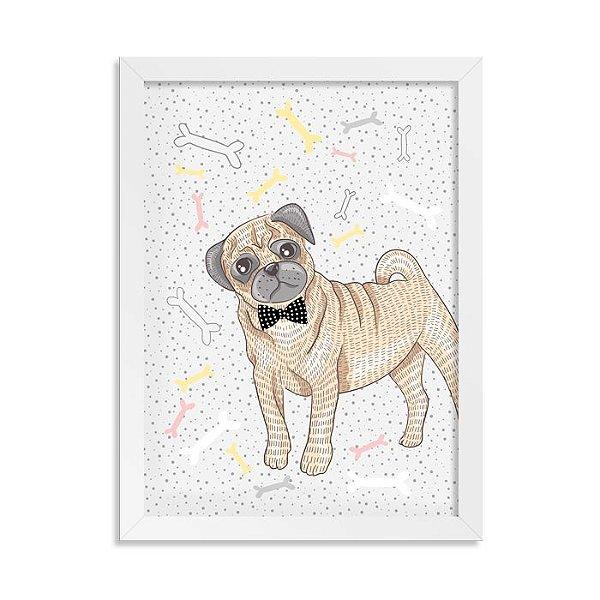 Quadro Doguinhos Pug