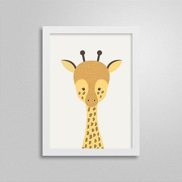 Quadro Escandinavo Girafinha