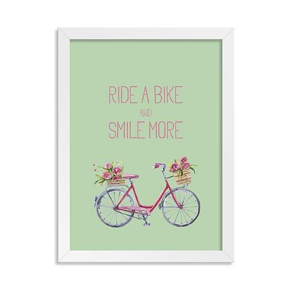 Quadrinho Bicicleta Ride a Bike Girl