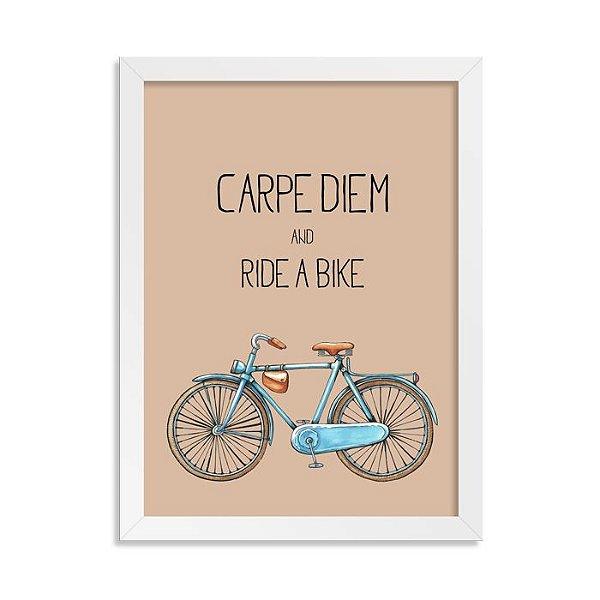 Quadrinho Bicicleta Carpe Diem Boy