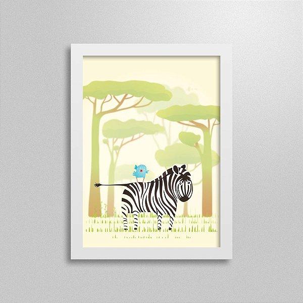 Quadro Safari Zebra