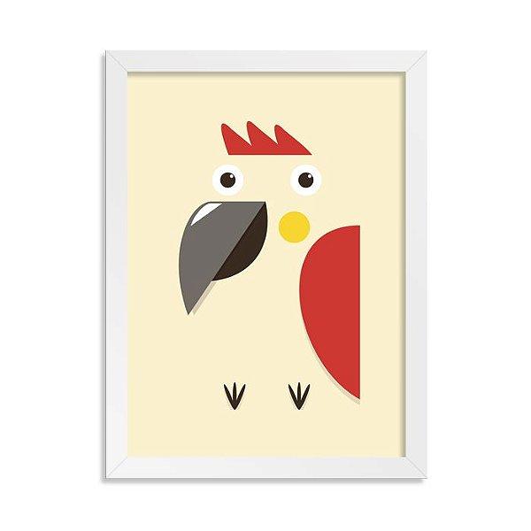 Quadro Totem Papagaio