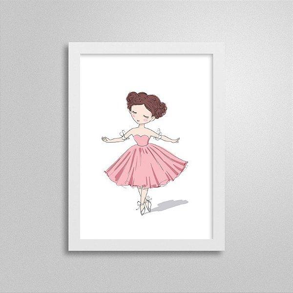 Quadrinho Dançarina 1