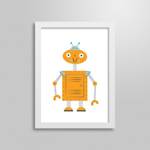 Quadro Robô Cyberbot