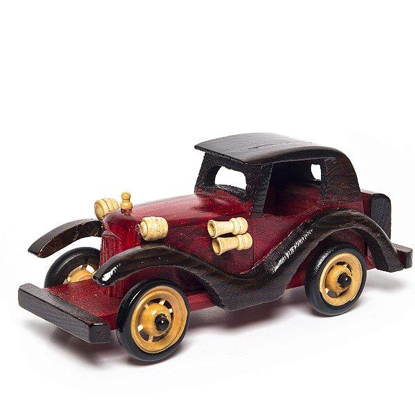 Miniatura Carro de Madeira - Decoração Quarto Infantil - 03