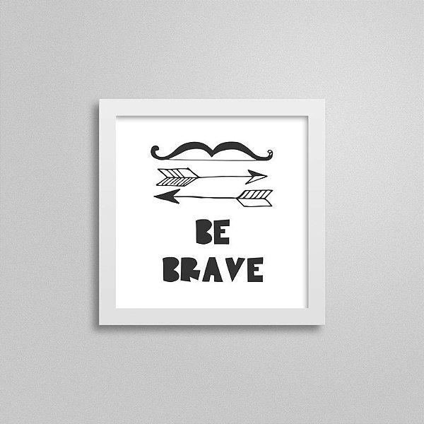 Quadrinho Escandinavo Be Brave