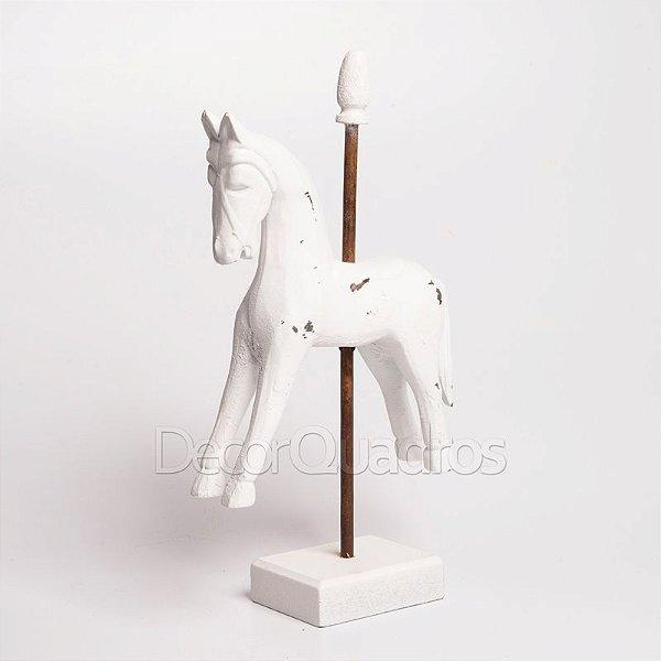 Miniatura Cavalo Branco