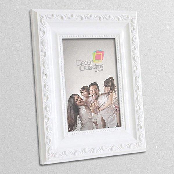 Porta-retrato Retrô Branco