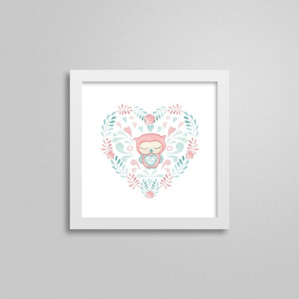 Quadro decorativo Sweet Baby Girl - Bons Sonhos 2