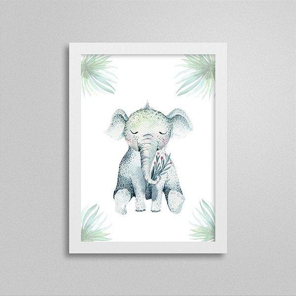 Quadro Bichinho Fofinho - Elefante