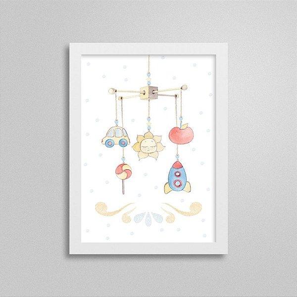 Quadro decorativo Sweet Baby Boy - Móbile 2