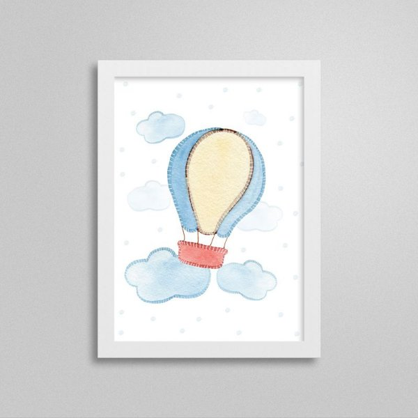 Quadro decorativo Sweet Baby Boy - Balão