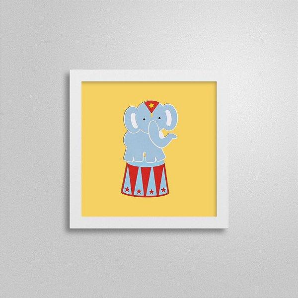 Quadro Decorativo Infantil – Elefante
