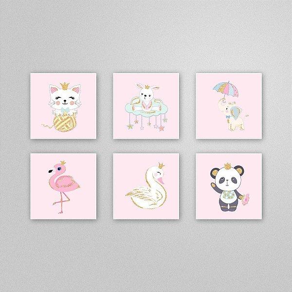 Ilustração para imprimir - quadro quarto infantil - M1