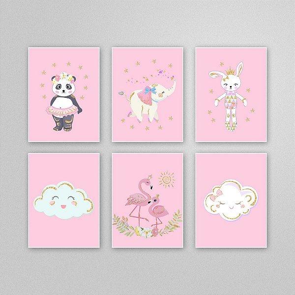 Desenho para imprimir - quadro quarto infantil - M2