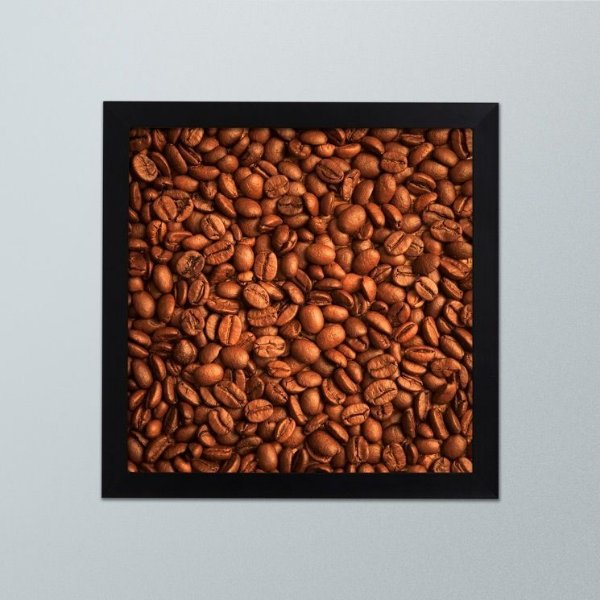 Quadro Grãos de Café – Decoração
