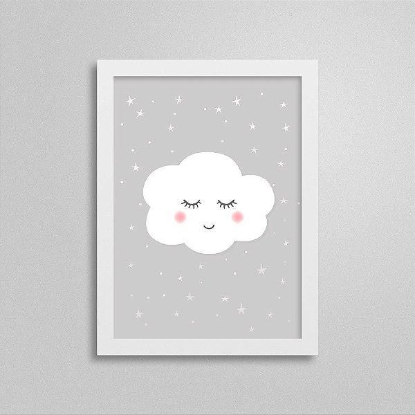 Quadro Nuvem Decoração Quarto Infantil