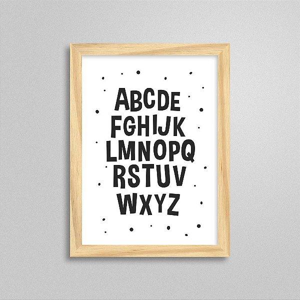Quadro Alfabeto