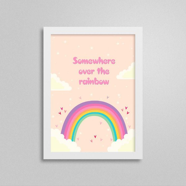 Quadro Somewhere Over the Rainbow
