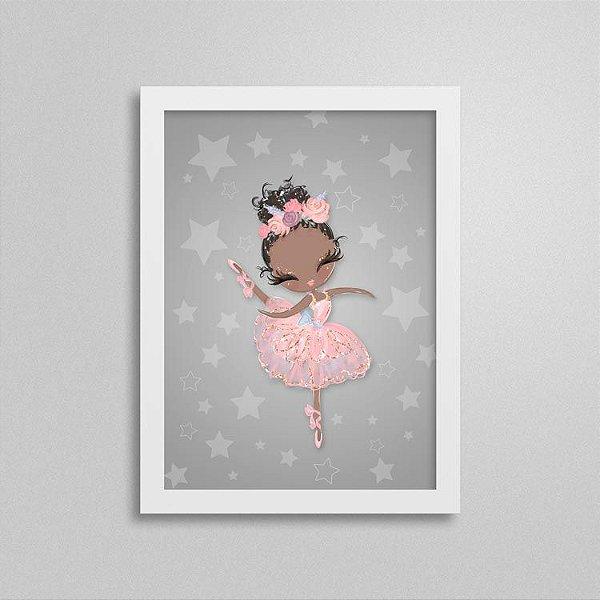 Quadro Balé e Bailarina - Love 3