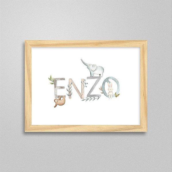 Quadro nome Enzo