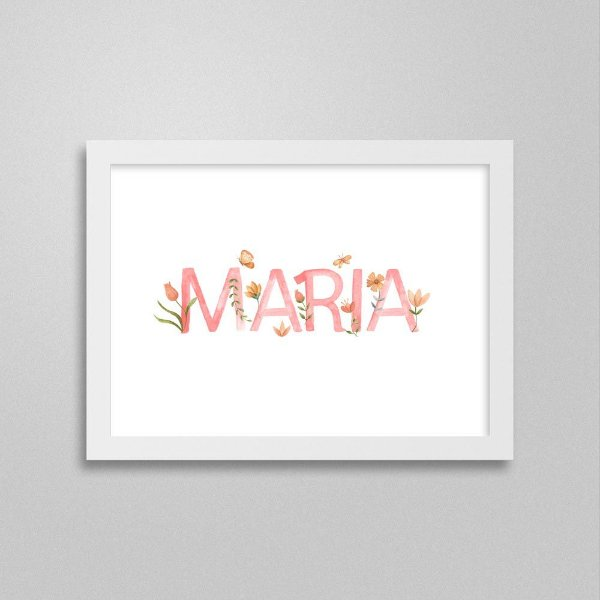 Quadro nome Maria