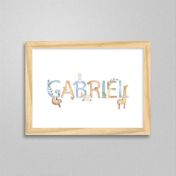 Quadro nome Gabriel