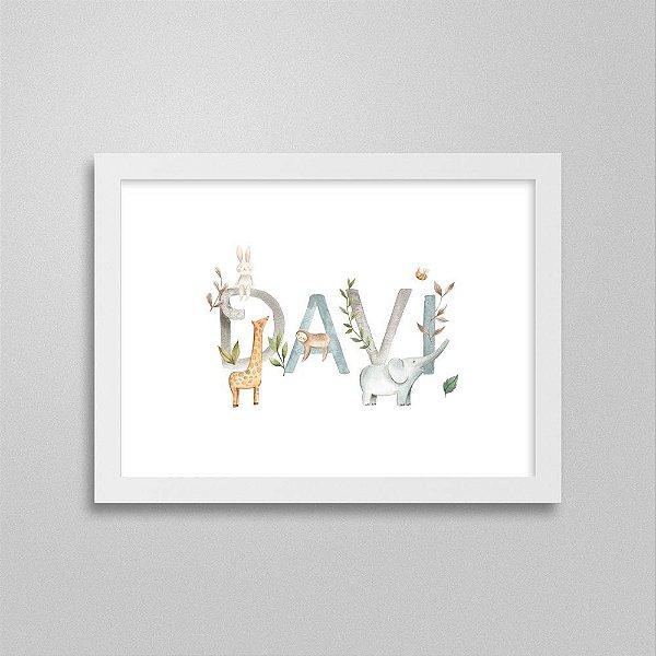 Quadro nome Davi