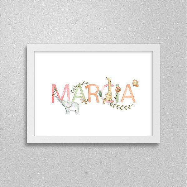 Quadro nome Marcia