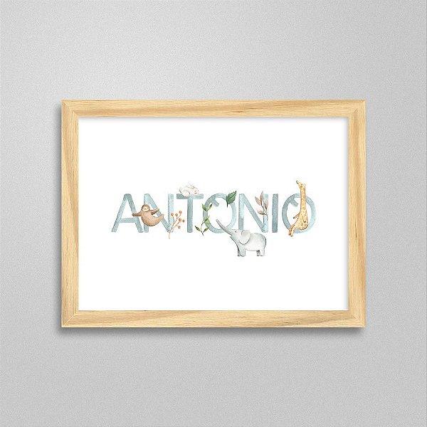 Quadro nome Antonio