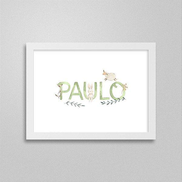 Quadro nome Paulo