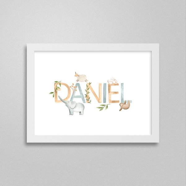 Quadro nome Daniel