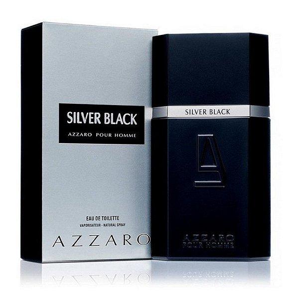 TESTER Perfume Azzaro Silver Black EDT Masculino 100ml
