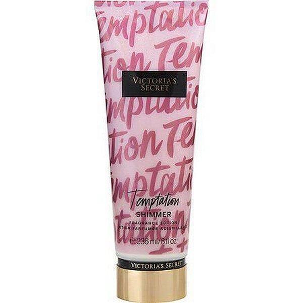 Creme Corporal Victoria Secret Temptation Shimmer com brilho 236ml
