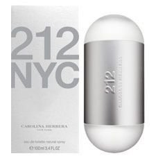 Perfume Carolina Herrera 212 Tradicional Feminino EDT 100ml
