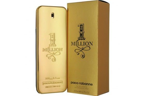 Perfume Paco Rabanne 1 Million Masculino EDT 200ml