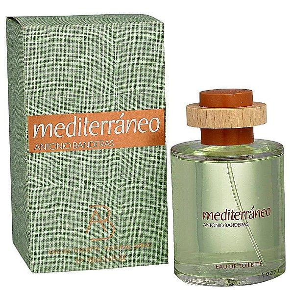 Perfume Antonio Banderas Mediterrâneo Masculino EDT 100 ml