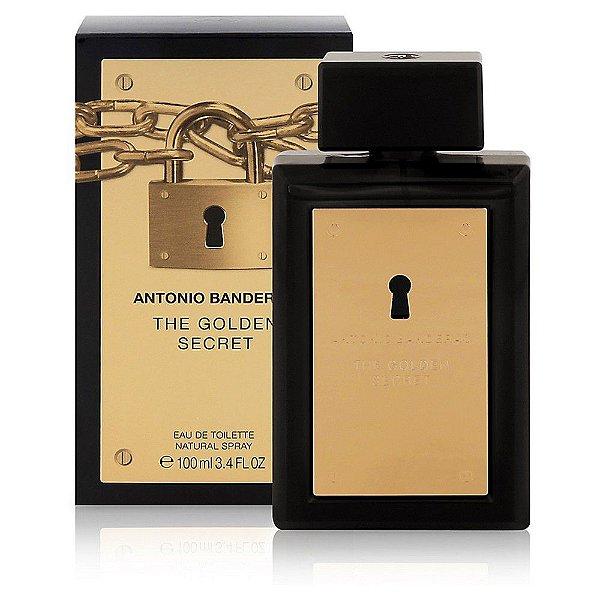 Perfume Antonio Banderas The Secret Gold Masculino EDT 100ml