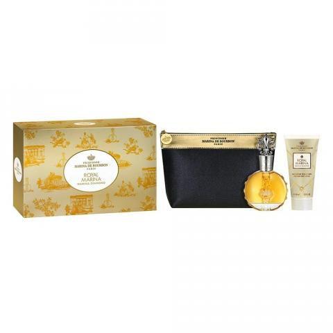 Kit Perfume Marina de Bourbon Diamond EDP 100ml + Loção Corporal + Necesseire