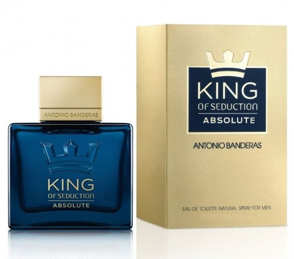 Perfume Antonio Banderas King of Seduction Absolute Masculino EDT 100ml
