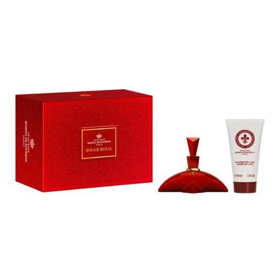 KIT Perfume Marina de Bourbon Rouge Royal 100ml + Loção
