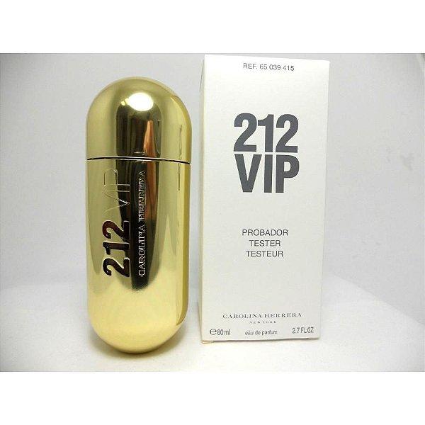 TESTER Perfume Carolina Herrera 212 Vip Feminino EDP 80ml